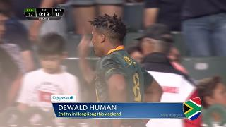 Try, Dewald Human, SOUTH AFRICA v New Zealand
