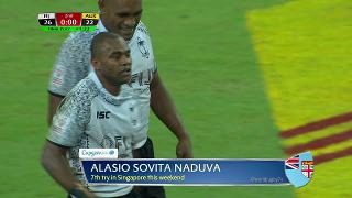 Try, Alasio Sovita Naduva, FIJI vs Australia