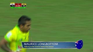 Try, Murice Longbottom, Fiji vs AUSTRALIA