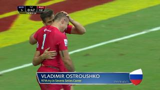 Try, Vladimir Ostroushko, Scotland vs RUSSIA