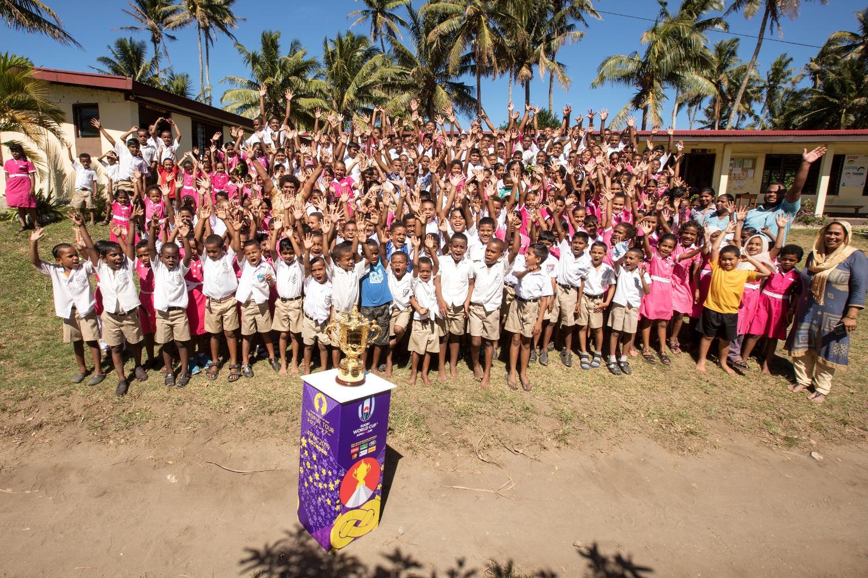RWC 2019 Trophy Tour Fiji