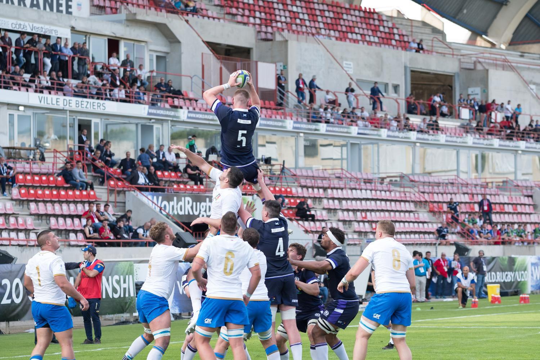 World Rugby U20 Championship 2018: Scotland v Italy