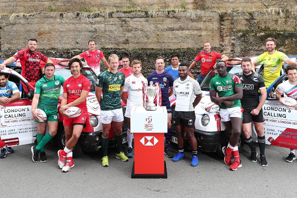 Final squads announced for HSBC London Sevens