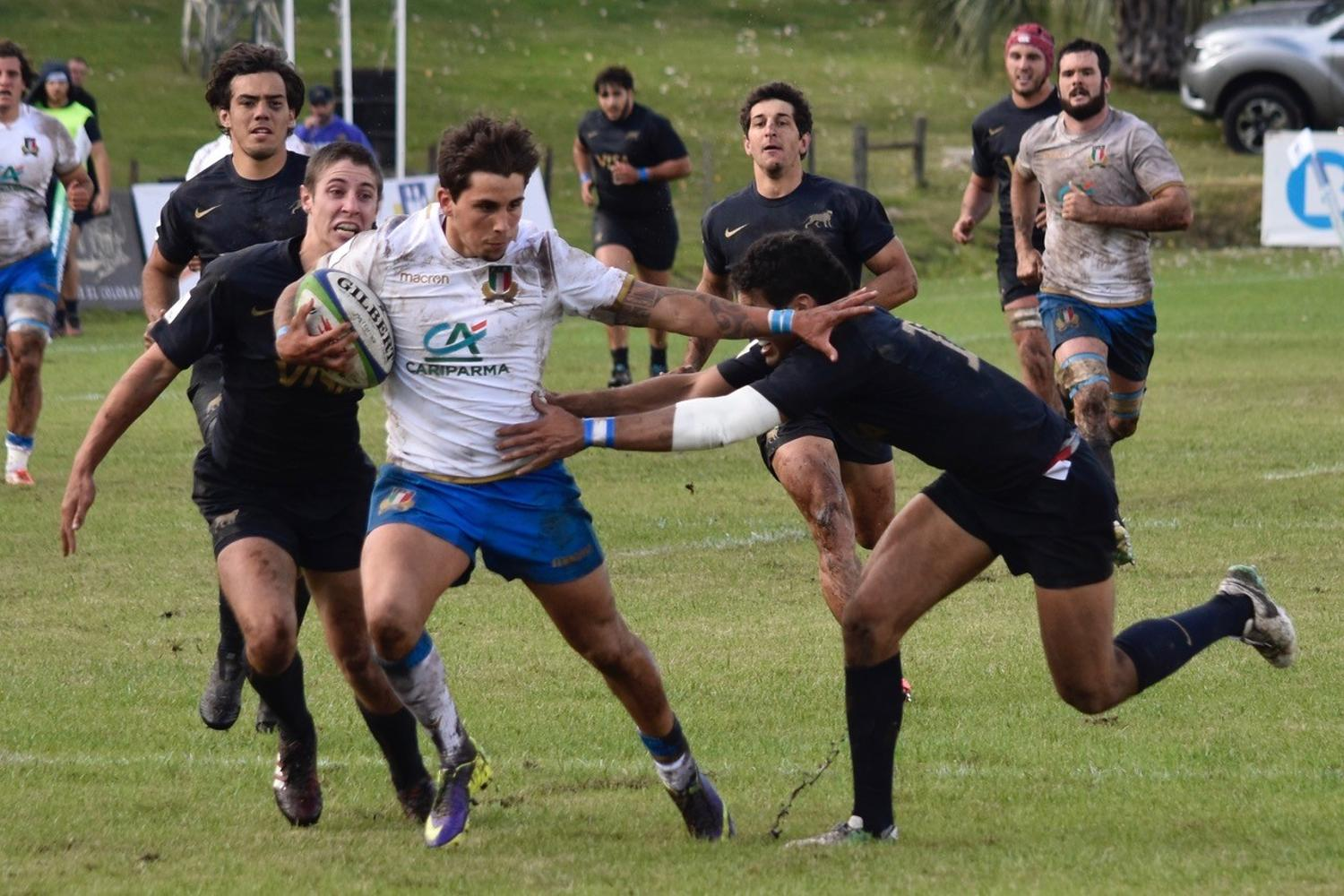 World Rugby Nations Cup 2018: Emerging Italy v Argentina XV