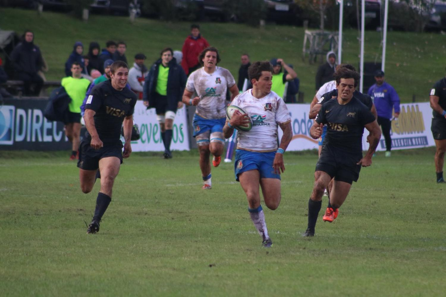 World Rugby Nations Cup: Argentina XV v Emerging Italy