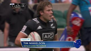 Try, Tim Mikkelson, United States v NEW ZEALAND