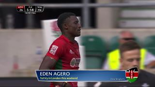 Try, Eden Agero, KENYA v Wales