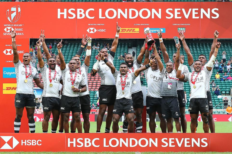 Fiji win big in London to maintain series lead