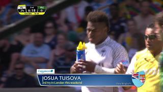 Try, Josua Tuisova, FIJI v Ireland