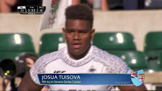 Try, Josua Tuisova - FIJI v New Zealand
