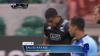 Try, Salesi Rayasi, United States v NEW ZEALAND