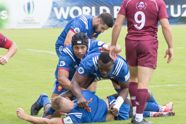 World Rugby U20 Championship 2018: France v Georgia