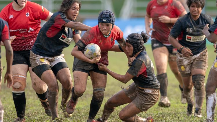 Asia Rugby Women's Championship Division 1: Singapore v India