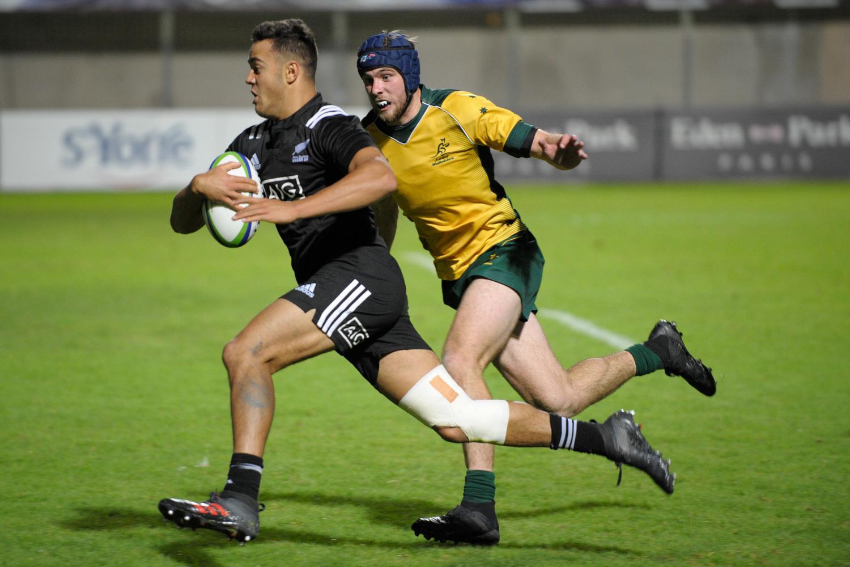 World Rugby U20 Championship 2018: New Zealand v Australia
