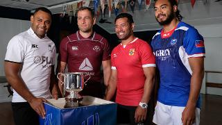 Pacific Nations Cup 2018: Captains' photo