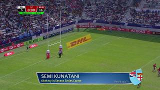 Try, Semi Kunatani, FIJI v Kenya