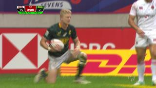 Try, Ryan Oosthuizen, England v SOUTH AFRICA
