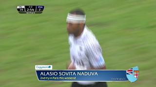 Try, Alasio Sovita Naduva, FIJI v Usa