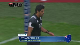 Try, Dylan Collier, Cana v NEW ZEALAND
