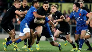 New Zealand v France - Steinlager Series