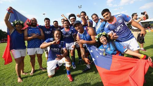 Samoa's fierce Siva Tau