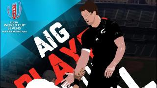 AIG Player of the Final at Rugby World Cup Sevens 2018