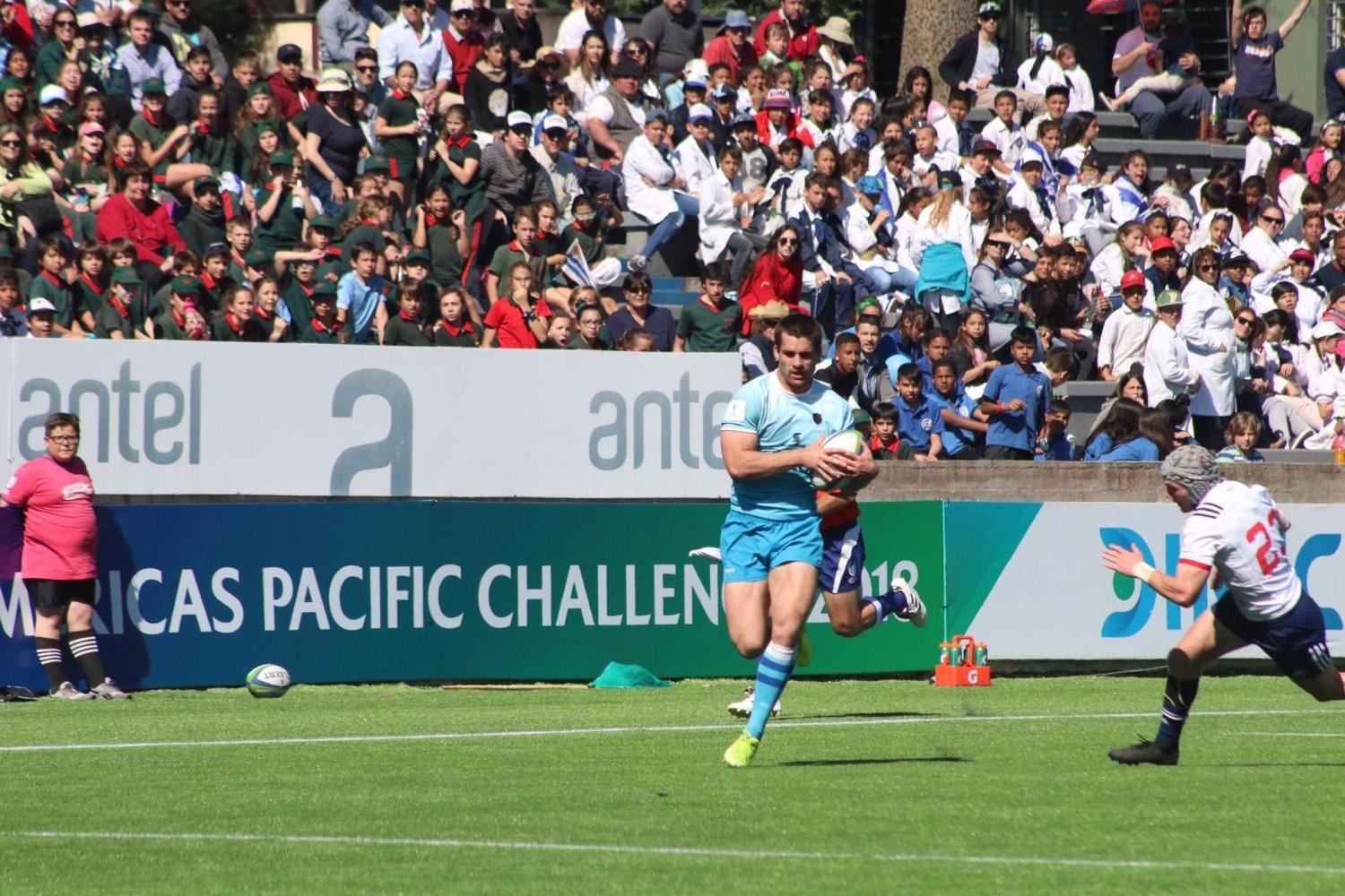 World Rugby Americas Pacific Challenge 2018: Uruguay A v USA Selects XV