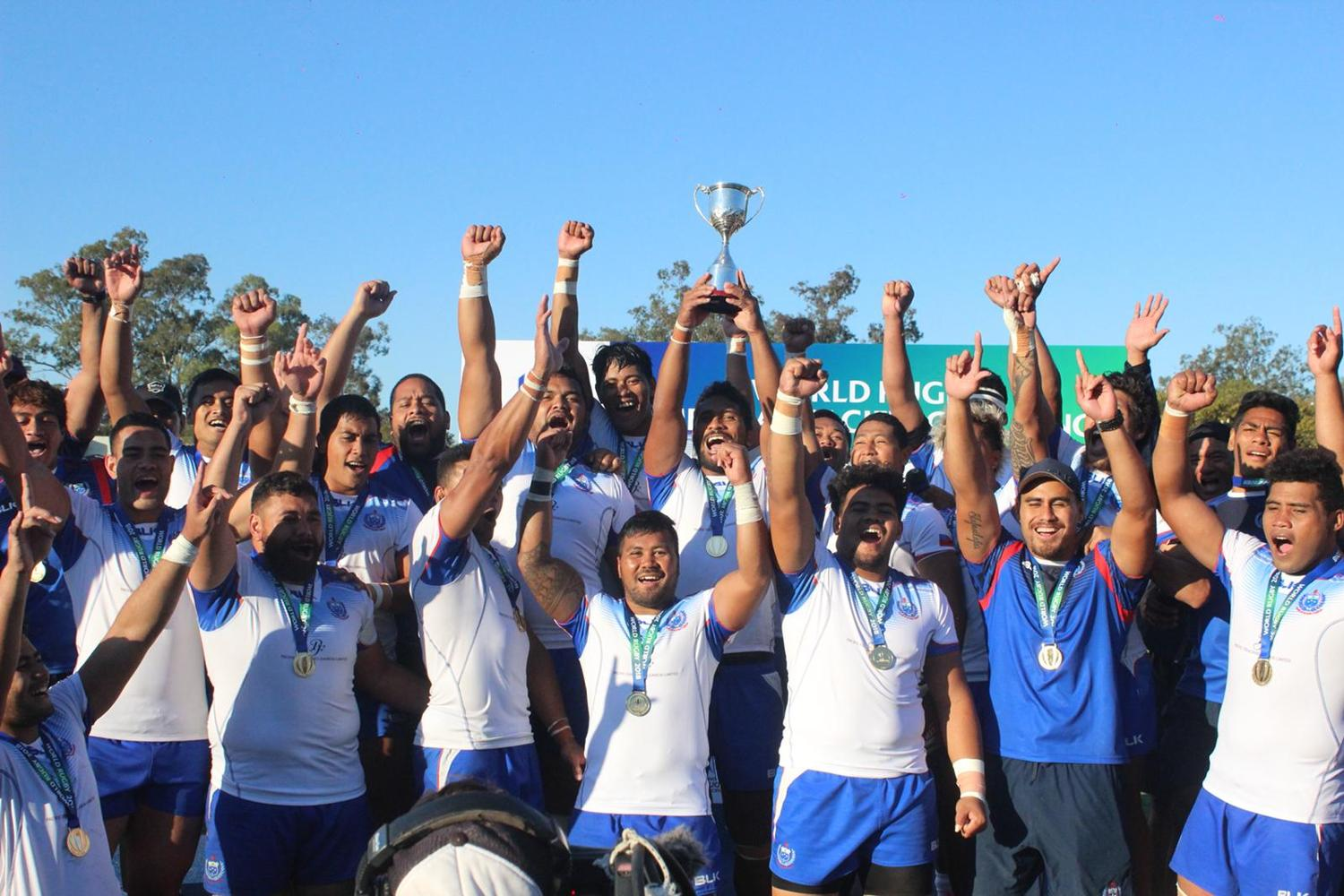 Americas Pacific Challenge 2018: Samoa trophy lift