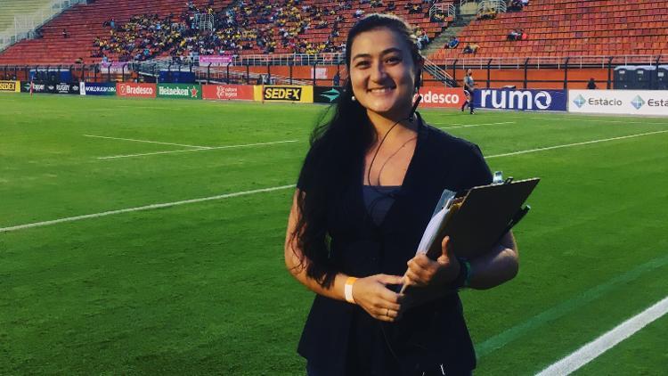 Marjorie Enya of Brazil