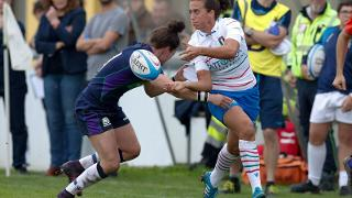 Italy v Scotland women's international:  Manuela Furlan