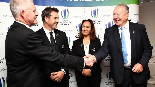 New Zealand announced as Women's Rugby World Cup 2021 hosts