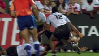 Try, Muller Du Plessis, RSA V Fiji