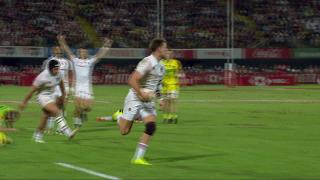 Try, Harry Glover, ENG V Aus