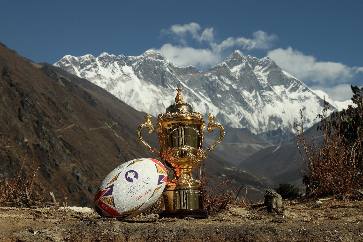 Rugby World Cup 2019 Trophy Tour - Nepal: Day One