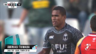 Try, AMINIASI TUIMABA, England v FIJI