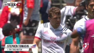 Try, STEPHEN TOMASIN, USA v Japan