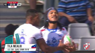TOP Try, TILA MEALOI, New Zealand v SAMOA