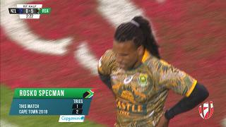 Try, ROSKO SPECMAN, New Zealand v SOUTH AFRICA