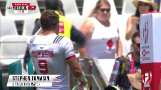 Try, STEPHEN TOMASIN, USA v Jpan