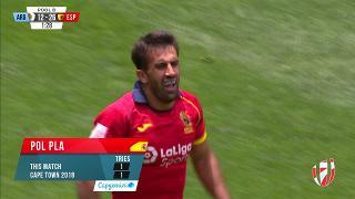 Try, POL PLA, Argentina v SPAIN