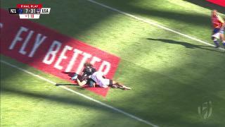 Try, Taylor Haugh - NZL V Usa