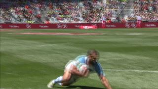 Try, Gaston Revol - ARG V Ken