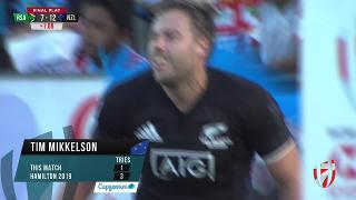 Try, Tim Mikkelson, SOUTH AFRICA V NEW ZEALAND