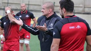 Georgia forwards coach Graham Rowntree