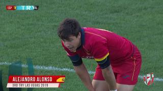 Try, Alejandro Alonso, ESP v Wal