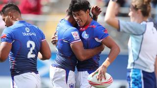 RE:LIVE: Samoa's game winning tackle