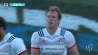 Try, Ben Pinkelman, USA v Sam