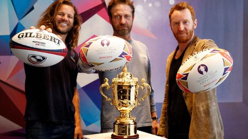 Stars And Stripes For Webb Ellis Cup As Rwc 2019 Trophy Tour Visits Los Angeles World Rugby