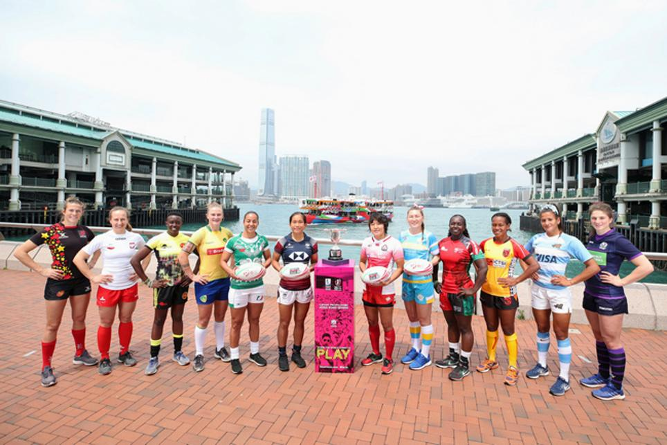 Captains all set for the Women's World Rugby Sevens Series
