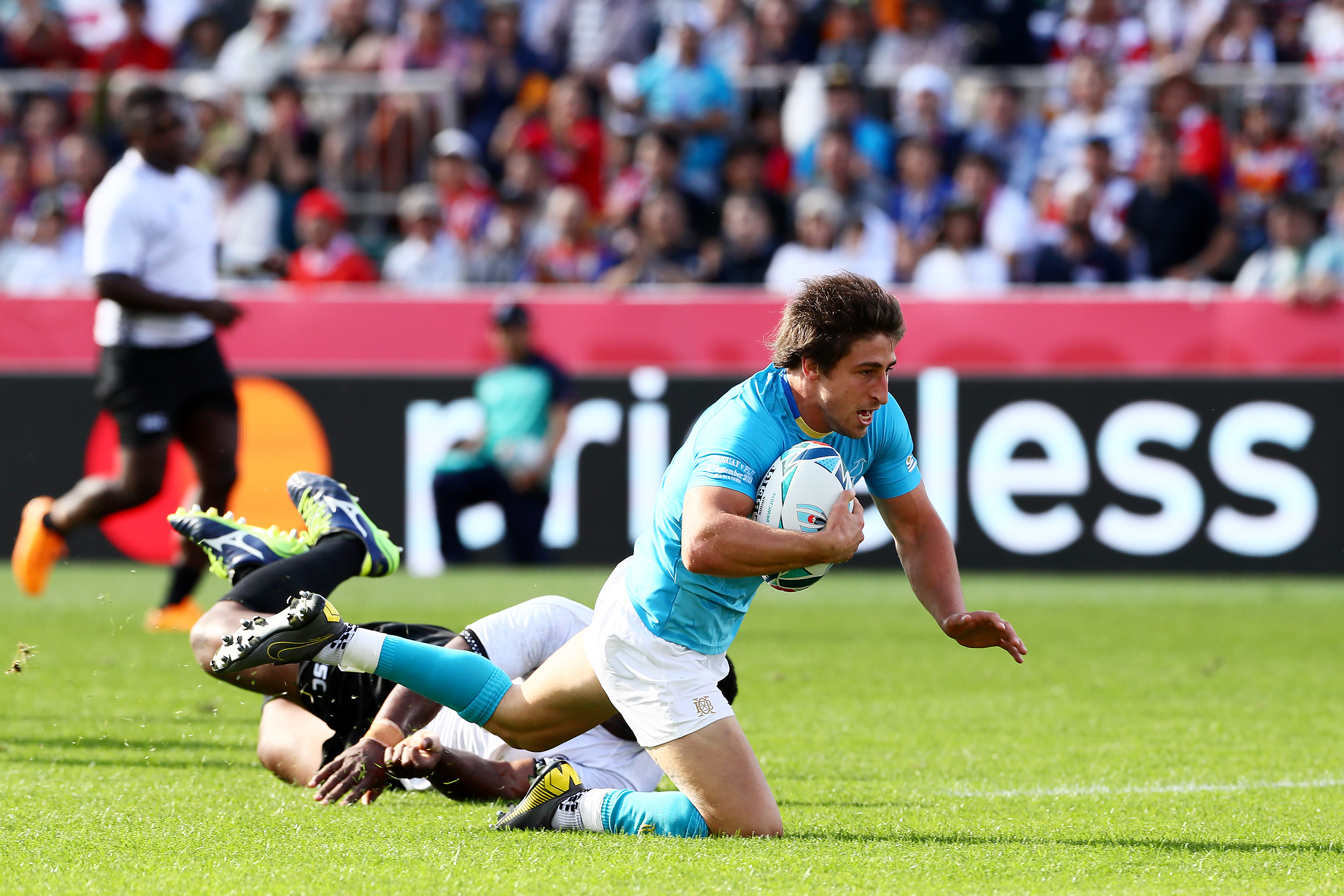 Uruguay S Greatest Day Leaves Flying Fijians Stunned Rugby World Cup Rugbyworldcup Com